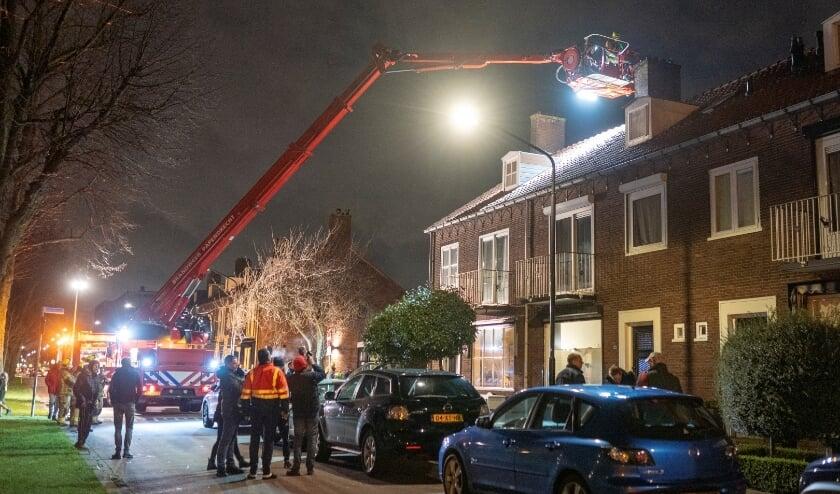 <p>• De schoorsteenbrand langs de Van Eesterensingel.</p>