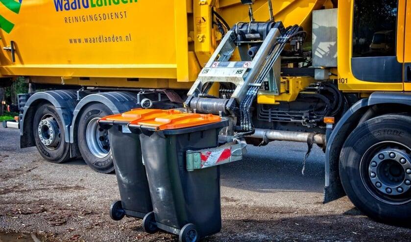 <p>&bull; Hoe meer restafval iemand aanbiedt, hoe meer afvalstoffenheffing hij straks moet betalen.</p>