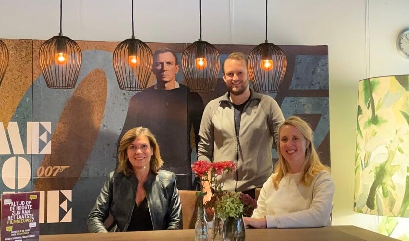 • Esther van der Lans, Patrick van Es en Tessa Knijff van AnnexCinema.