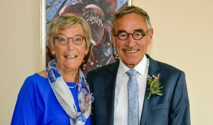 <p>Arie Kool en Jeany Kool-Breure vierden vorige week hun 50-jarig huwelijk</p>