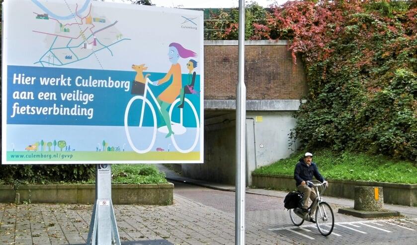 Gemeente wil een veilige oost/west fietsroute creëren