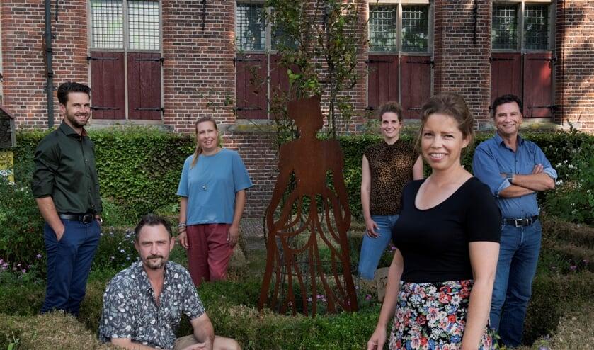 <p>Projectteam Cultuur met vlnr Mark van Dooren, Arjan Middelkoop, Anne van der Weg, Wieke Vrijhoef, Leonieke Terlouw en Stefan van den Oever.<br><br></p>