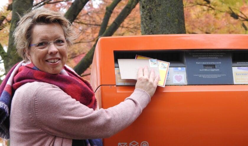<p>• Marieke Vader-Vink, initiatiefnemer van TragePost.</p>