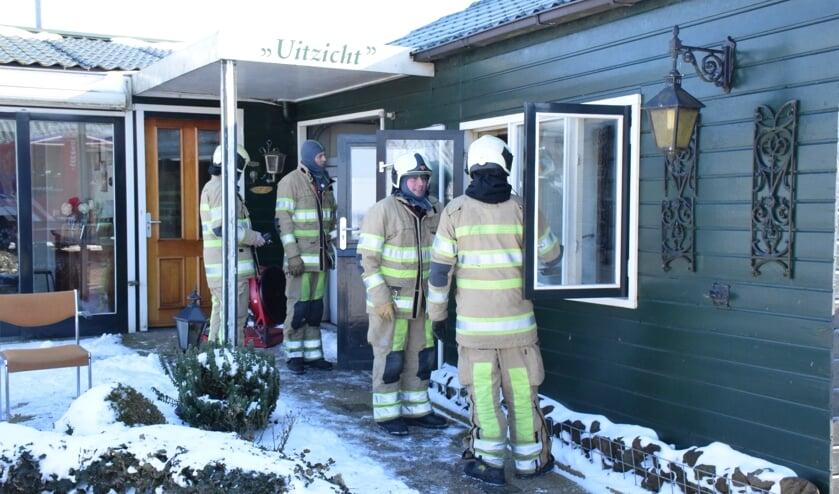 • Brandweerlieden hadden de brand vrij snel onder controle. Een vergeten gaskachel bleek de boosdoener.