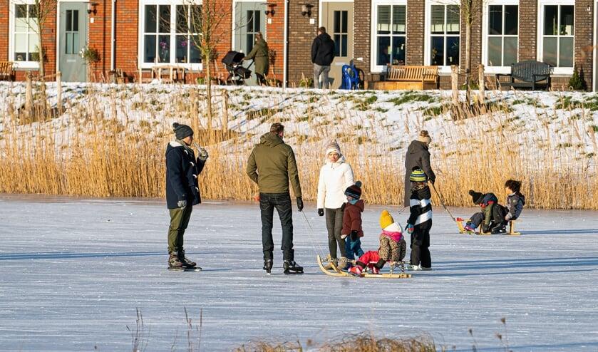 <p>Schaatsplezier in Hagestein Everdingen en Hoef &amp; Haag</p>