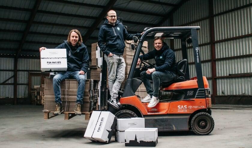 <p>• Wessel Blokland, Sven Luttmer en Ron Roodhorst van Pak Het Uit.</p>