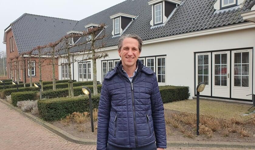 <p>&bull; Directeur Eric van der Linde voor het Amadeushuis, voorheen hotel/restaurant De Arendshoeve.</p>