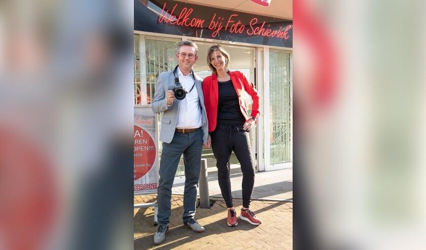 • Wiebe en Patricia Schievink.