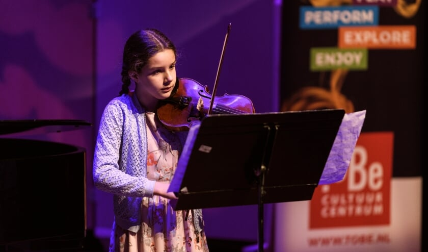 Debora Maurer uit Papendrecht tijdens haar deelname vorig jaar.