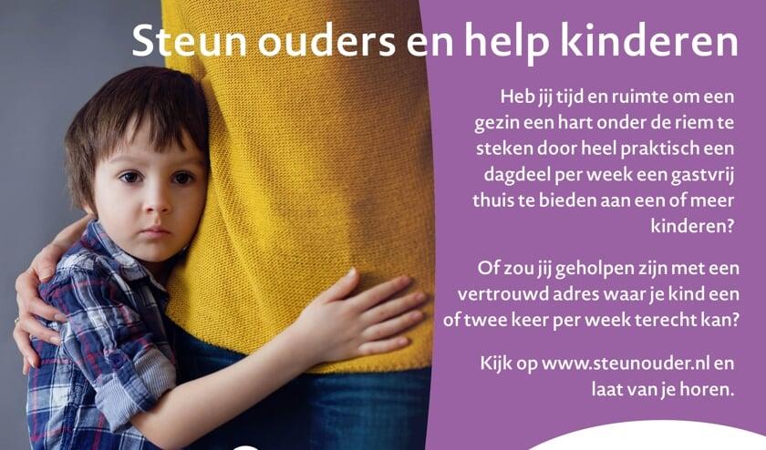 <p>• 'Steun ouders en help kinderen'.</p>