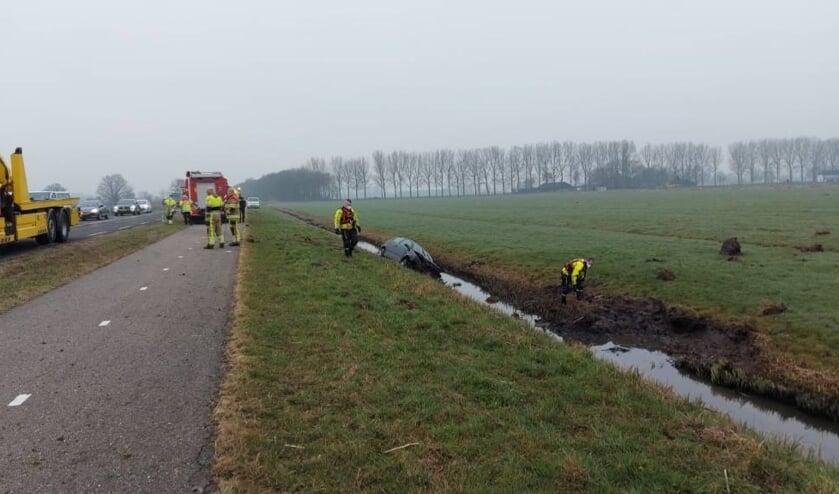 <p>• Auto te water op de N488 tussen Vuren en Leerdam</p>