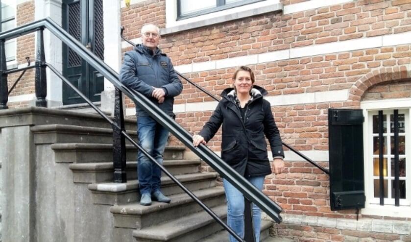 <p>Zzp&#39;ers Evert Nagel en Marjan Wildeboer zitten ondanks de crisis niet bij de pakken neer.</p>