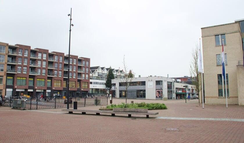 <p>&bull; Het Van der Kevie-terrein in het centrum van Papendrecht.&nbsp;</p>
