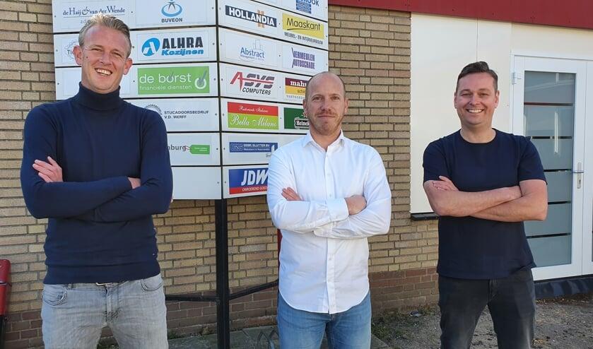 <p>• V.l.n.r.: Luke Verkerk, René Gerlach en Hans Scheffer.</p>