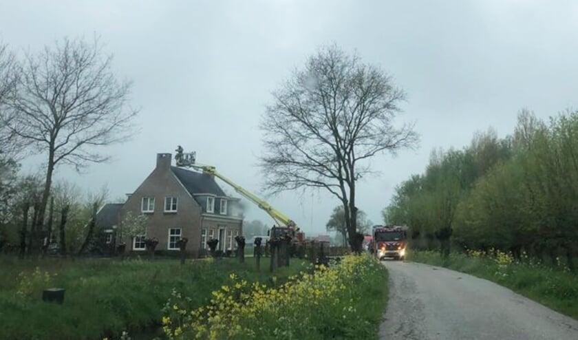 <p>• Schoorsteenbrand in een woning aan de Bolgerijsekade.</p>