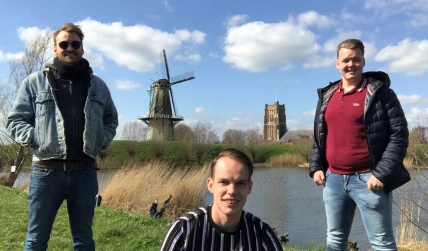 <p>De drie talenten van AltenaTalent: Niels Kant, Johan van de Wetering en Timo van der Steenhoven.</p>