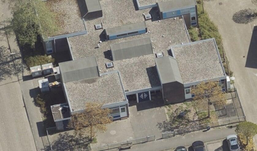 • De beoogde bouwlocatie aan De Akker.