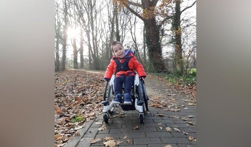 • De vierjarige Finn uit Papendrecht.