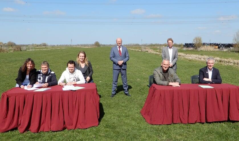 <p>• Het ondertekeningsmoment van de uitvoeringsovereenkomst.</p>
