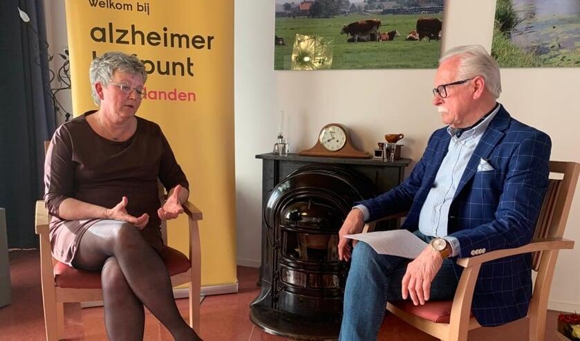 Digitaal Alzheimer Trefpunt Molenlanden, mr. Arie Slob