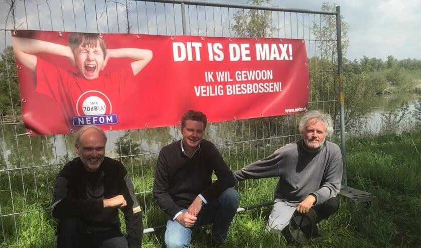 <p>Johan Soepnel, Edwin van Loon en Leo Fluitman.</p>