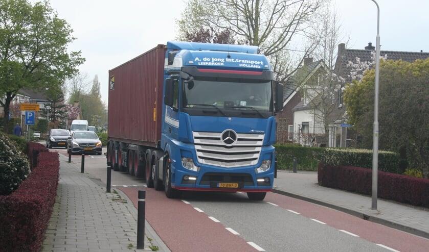 <p>&bull; De nauwe doorgang in Nieuwland.</p>