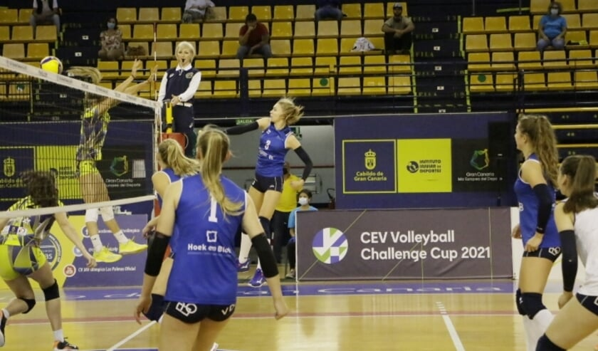 <p>• Het afgelopen seizoen speelde Sliedrecht Sport twee uitwedstrijden in de Challenge-cup tegen Olimpico Las Palmas.</p>