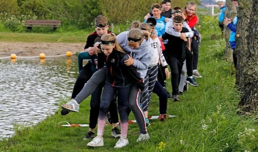 Ruim 60 jongeren deden mee aan Expeditie Molenlanden