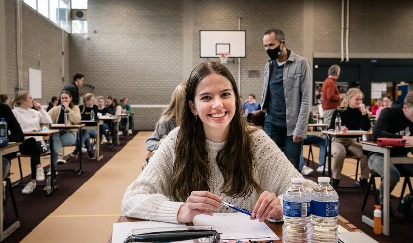 <p>De start van de examens op het Altena College dit jaar.</p>
