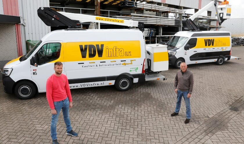 <p>• Marinus van der Vliet en Ad van Heumen.</p>