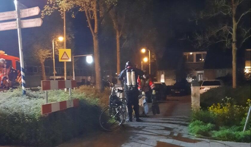 • Brandweerduikers met de fiets.