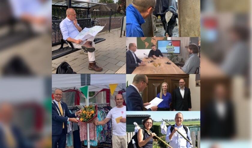Theo Segers is deze week 500 dagen burgemeester van Molenlanden.