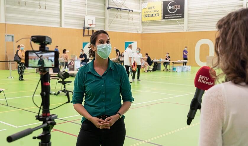 GGD vaccinatielocatie in Helsdingen Sport en Cultuur Vianen.