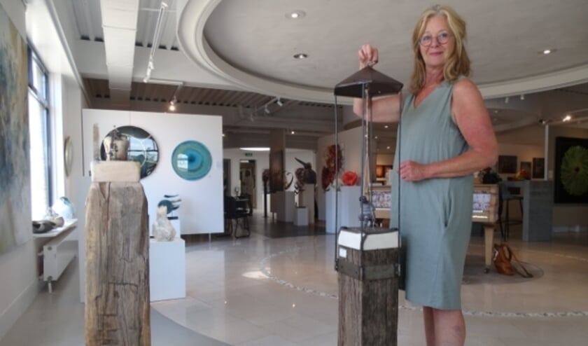 Marja Verkerk uit Oudewater exposeert tijdens de zomerexpositie haar keramiek