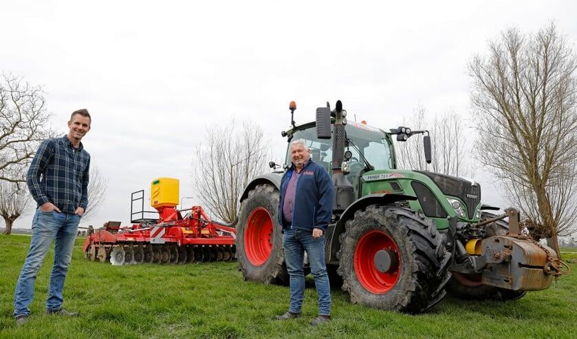 <p>• Hessel van der Meer en Helmoed Boom.</p>