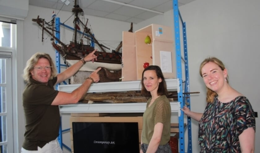 <p>Bert Murk, Monika Heldoorn en Floor Snijders popelen om met collega&#39;s en vrijwilligers de bezoekers te ontvangen bij MIJ.</p>