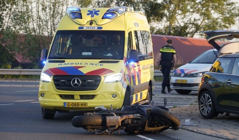 • De situatie na het ongeval.