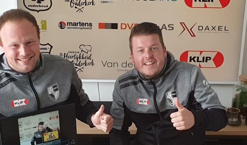 <p>• Maarten Timmer en Edwin van Krimpen.</p>