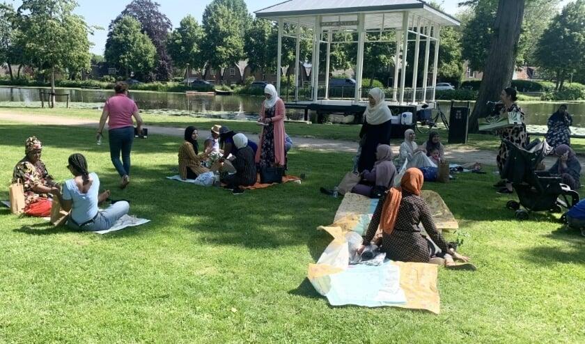 <p>• Picknick in het Springerpark.</p>