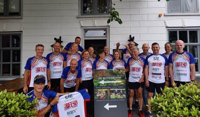 <p>&bull; Run Boys Beesd Team 44 doet in oktober mee aan de Roparun.</p>