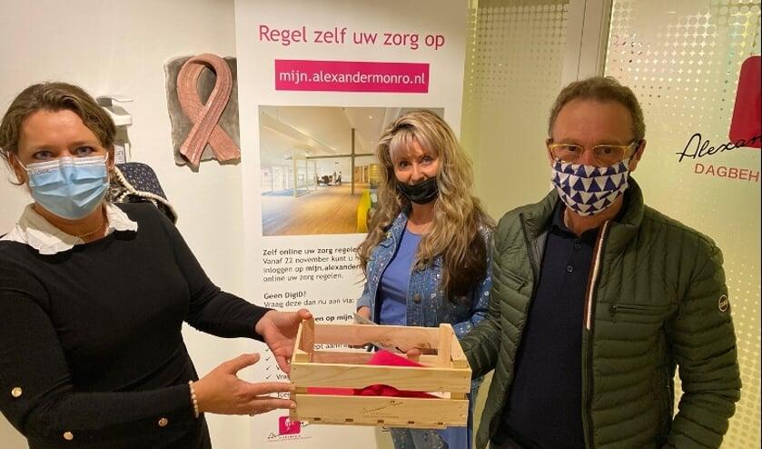 <p>• De donatie van echtpaar Smeets aan Marjolein de Jong.</p>