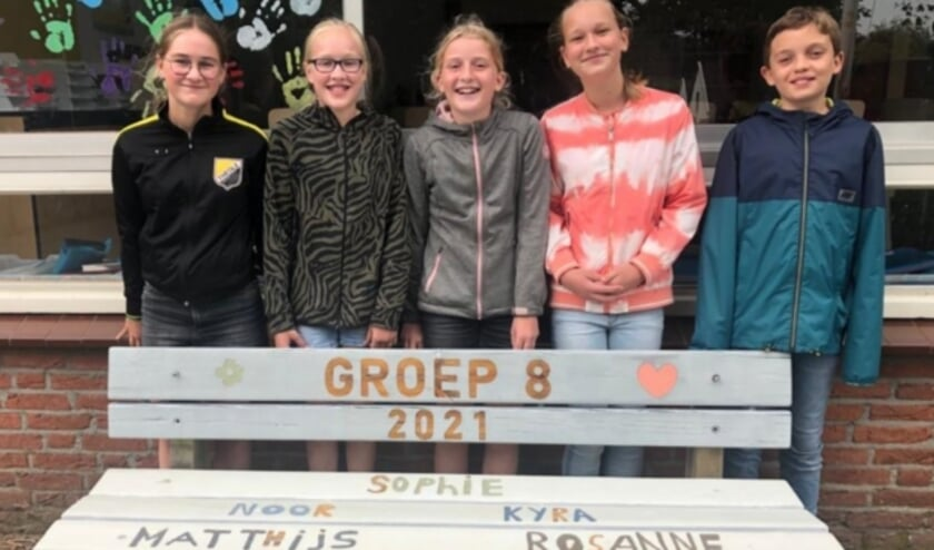 <p>Groep 8 van Den Aldenhaag in 2020-2021.</p>