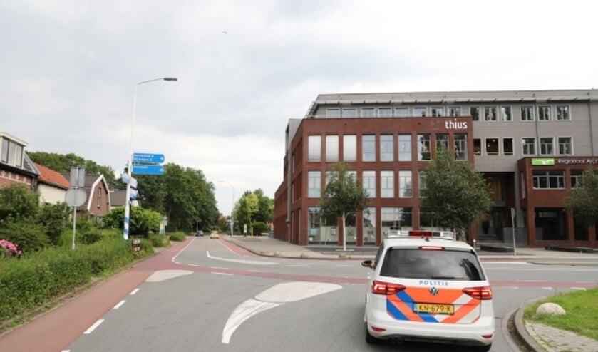 Zoekactie van de Politie in Tiel