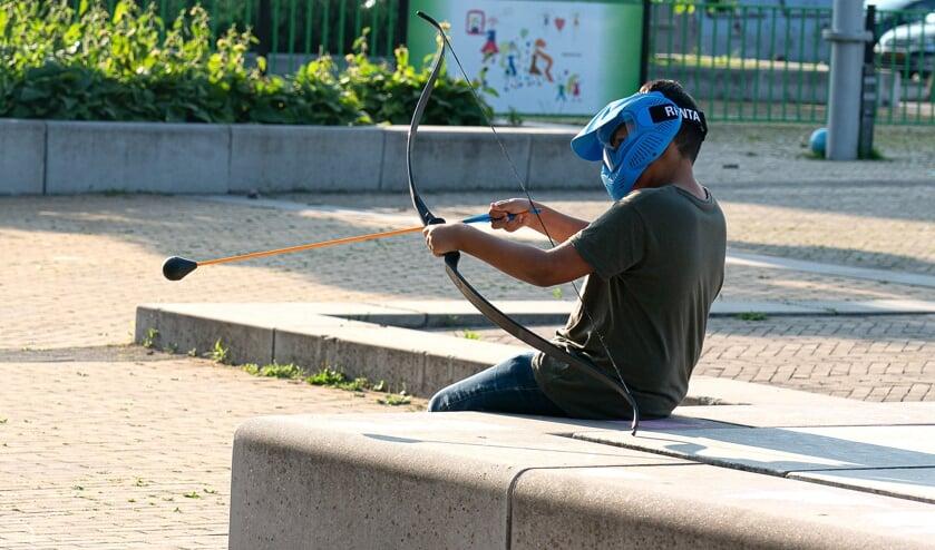 Archery Tag in de Hagen!