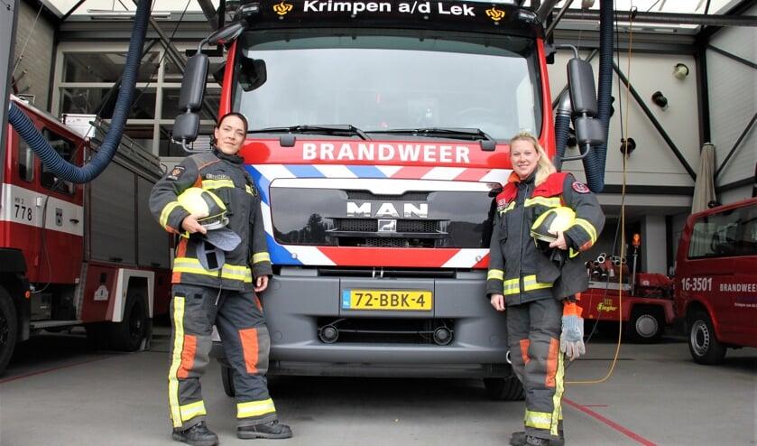 <p>• Brandweervrouwen van de brandweerpost Krimpen aan de Lek.</p>