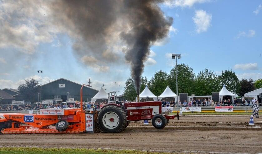<p>Terug van een jaar weggeweest: het tractorpulling in Montfoort; hier in 2019.</p>