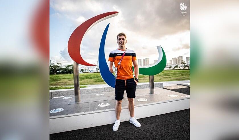 <p>De Goudse Tim van Duuren debuteert op Paralympics</p>