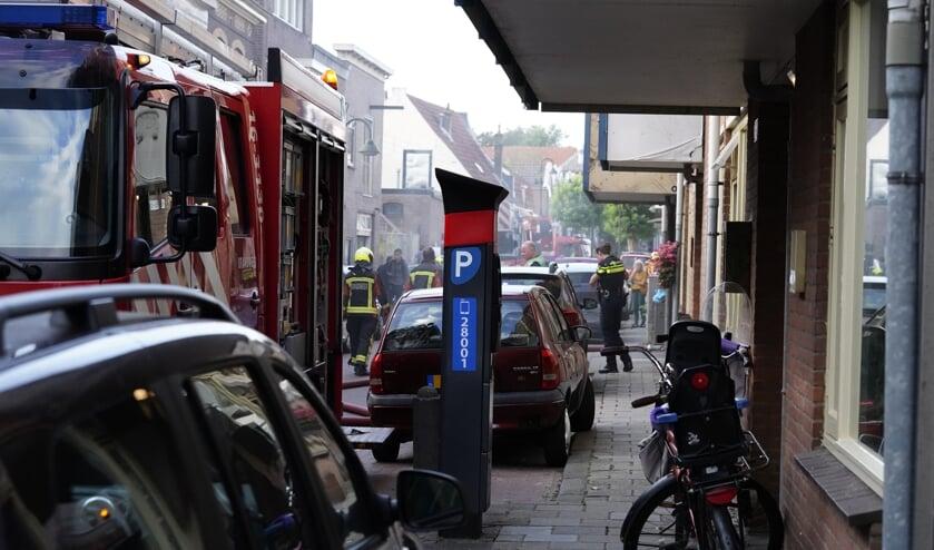 <p>Brand in flat hult Tuinstaat in zwarte rook.</p>