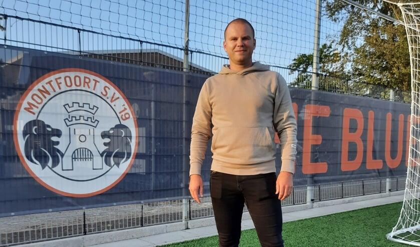 <p>De 31-jarige Bart Roelofs, aanvoerder van Montfoort SV'19.</p>