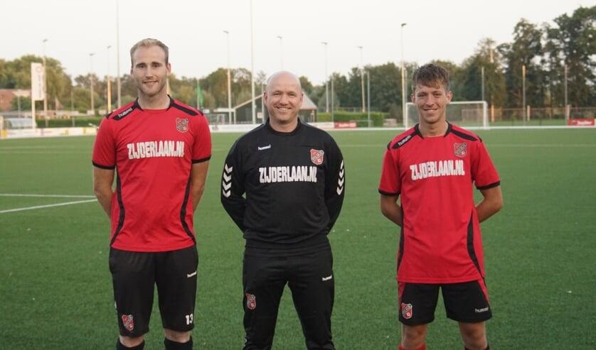 <p>• Michel Rozendaal, Robin van der Hulst en Raymon Spierdijk kijken met vertrouwen vooruit.</p>